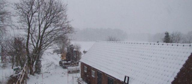 Tuin (2): beton en sneeuw