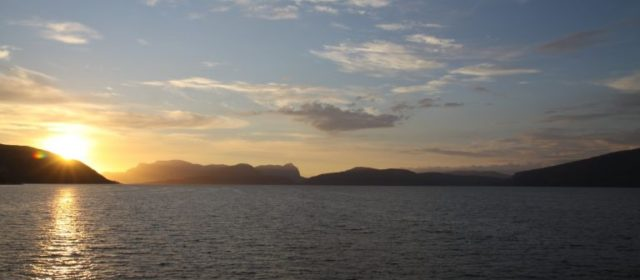 Een lange rit naar de Sognefjorden