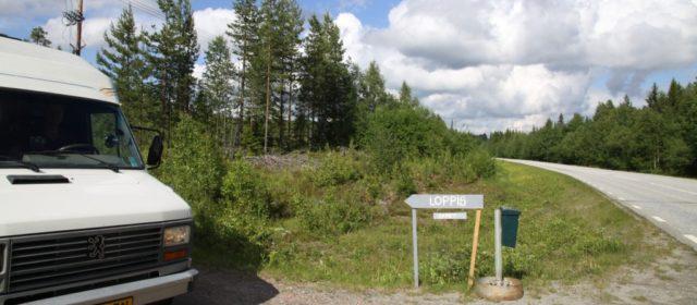 Via Sveg naar Hammarstrand