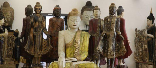 Boeddha museum en iconen in Traben-Trarbach